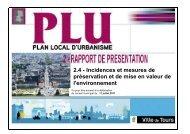 RP evaluation environnementale - Accueil - Tours