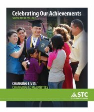 Celebrating Our Achievements - South Texas College