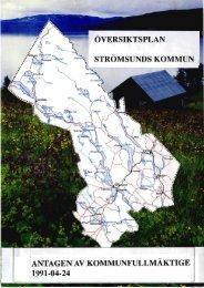 Översiktsplan 1991 Komprimerad.pdf - Strömsunds kommun