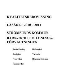 Kvalitetsredovisning 10-11.pdf - Strömsunds kommun