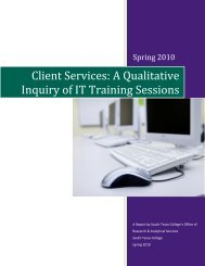 A Qualitative Inquiry of IT Training Sessions - Research and ...