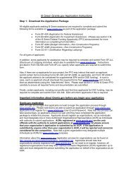Instructions for Applicants for Public Works and ... - Grants.gov