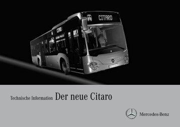 Technische Information Der neue Citaro