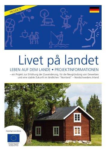 Livet på landet - Strömsunds kommun