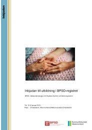 Inbjudan till utbildning i BPSD-registret - Kommunförbundet ...