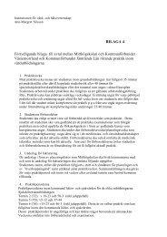 BILAGA 4 Förtydligande bilaga till avtal mellan Mitthögskolan och ...