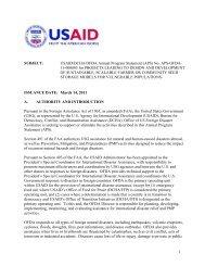 USAID/DCHA/OFDA Annual Program Statement - Grants.gov