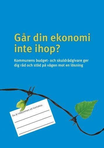 GÃ¥r din ekonomi inte ihop.pdf - Portalen - Konsumentverket