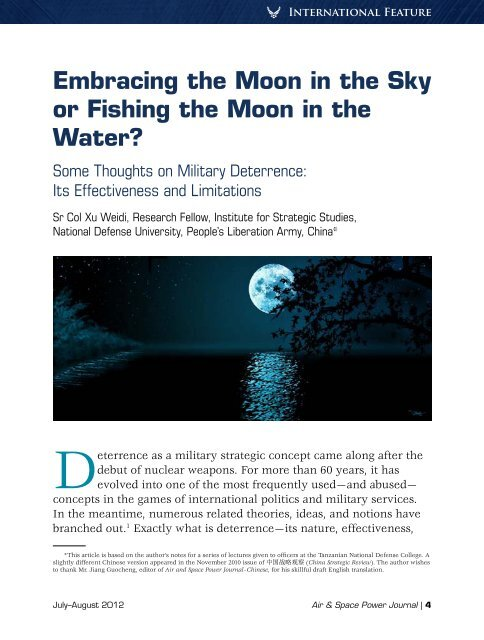 Embracing the Moon in the Sky or Fishing the Moon in the Water ...