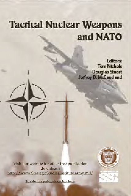 Tactical Nuclear Weapons and NATO.pdf - Program on Strategic ...