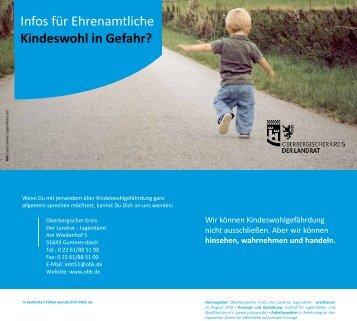 Kindeswohl in Gefahr? - Oberbergischer Kreis