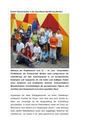 Farbenzauber in der Schulhausunterführung - Primarschule Berikon