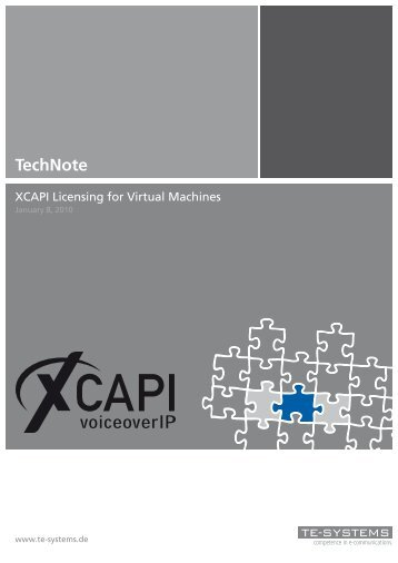 (XCAPI) for virtual machines - Ferrari electronic AG