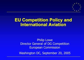 Philip Lowe - International Aviation Club of Washington DC
