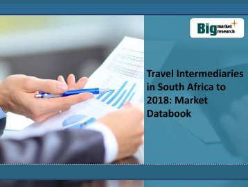 Travel Intermediaries in South Africa to 2018: Market Databook