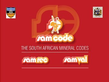 The New South African Mineral Codes in the Context of ... - SAMCODE