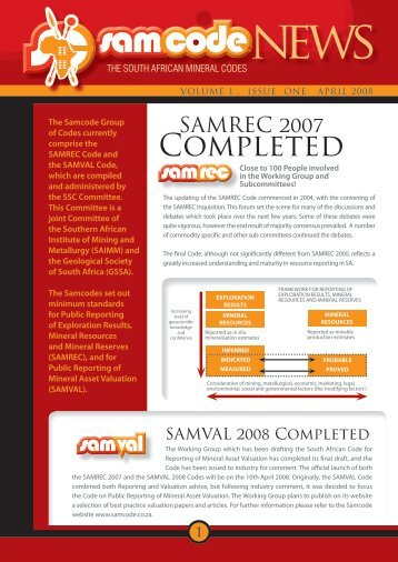 Newsletter - SAMCODE