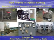 New Trends in Optical Sorting - SAMCODE
