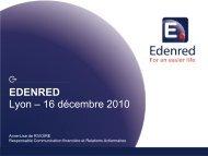EDENRED - Réunion Actionnaires Lyon