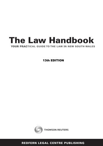 Disability law | The law handbook - Legal Information Access Centre