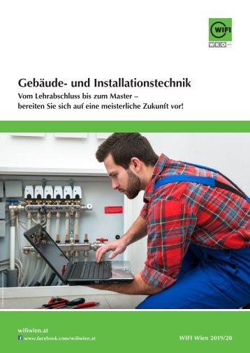 Gebäude- und Installationstechnik - Ausbildungen im WIFI Wien
