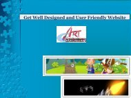 Get Well Designed and User Friendly Website