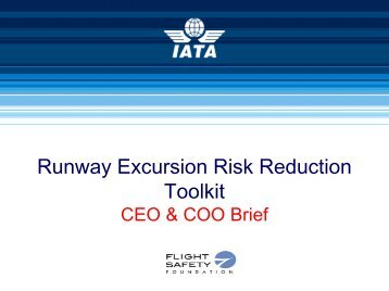 Runway Excursion Risk Reduction Toolkit