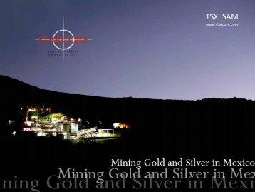 Disclaimer - Starcore International Mines Ltd.