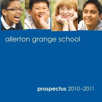 allerton grange school - Allerton Grange High School