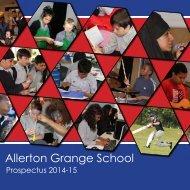 The 2014-15 prospectus - Allerton Grange High School