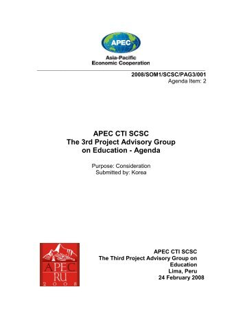 08_SCSC1_PAGE_01. Agenda.pdf - APEC Standards Education ...