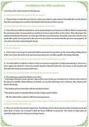 Ism Zameer Worksheet-Part-11 (Eng) - Al-Huda International