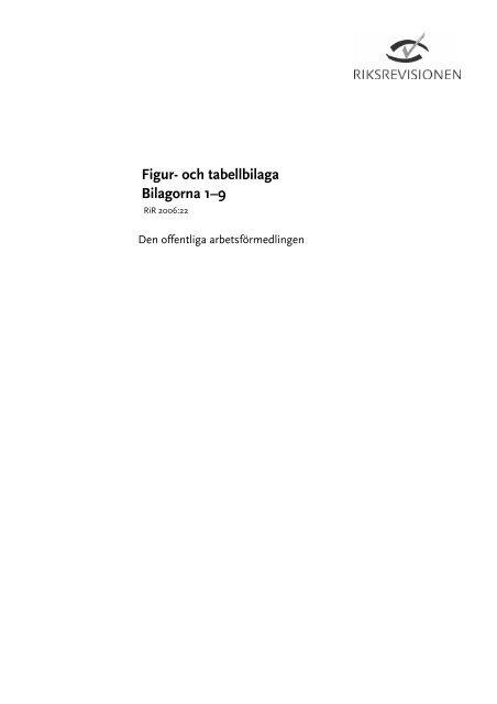 RiR 2006:22 - Riksrevisionen