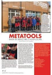 Metatools: Divizia de service are o nouă locație