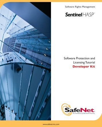 Sentinel HASP Software Protection and Licensing ... - Secure Support