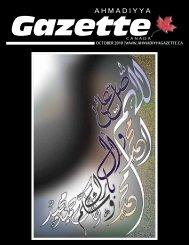 Ahmadiyya Gazette Canada