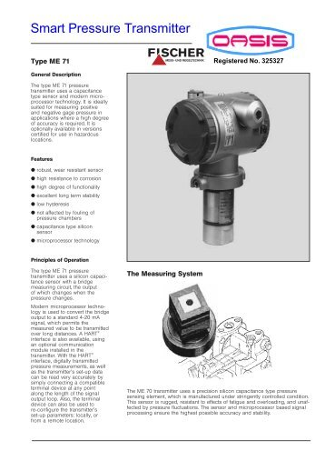 Smart Pressure Transmitter - Calcuttayellowpages.com