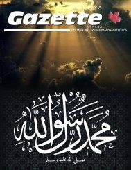 A Ḥ M A D Ī Y Y A - Ahmadiyya Gazette Canada