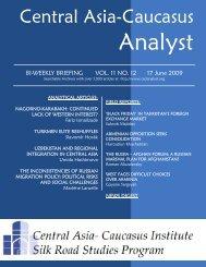 Suhrob Majidov - The Central Asia-Caucasus Analyst