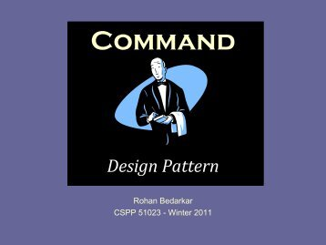 Command! Design Pattern