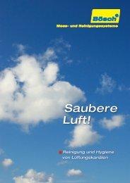 Saubere Luft! - Kaminreinigung, Kesselreinigung, Lüftungsreinigung ...