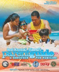 PDF, 5 pages, Download & Print - Hawaii Parent Information ...