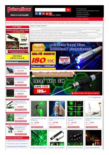Pointeur Laser Vert   sur le marché