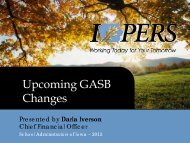 Upcoming GASB Changes - School Administrators of Iowa