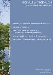 Dossier de présentation du territoire - Communauté de Communes ...