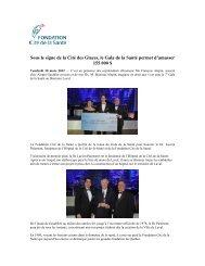 Gala de la Santé 2012 - Fondation Cité de la Santé