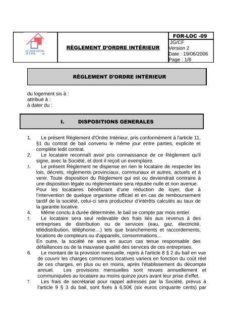 règles et règlements de datation
