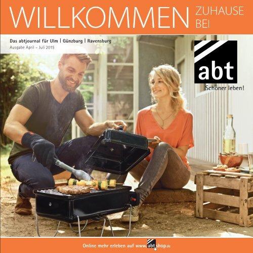 abtJournal für Ulm, Günzburg und Ravensburg, Ausgabe April bis Juli 2015