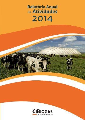Relatório Anual de Atividades 2014