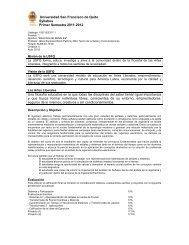 Syllabus Análisis de Señales 2011-2012.pdf - Universidad San ...